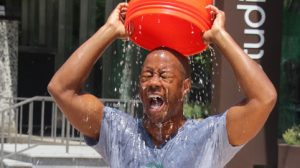 The Ice Bucket Challenge Just Went Up A Notch.