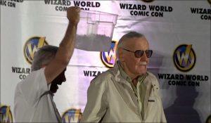 Stan Lee takes the ALS Ice Bucket Challenge!!!!