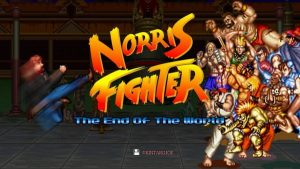CHUCK NORRIS Vs. STREET FIGHTER!