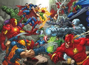 Watch The Epic Marvel vs DC Trailer
