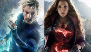 New AVENGERS Poster Featuring Scarlet Witch & Quicksilver