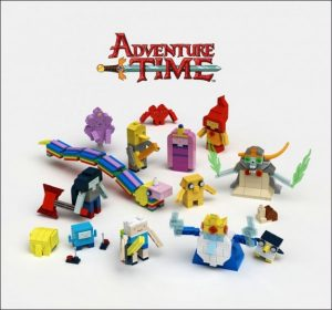 ADVENTURE TIME Lego Submitted to LEGO Ideas, Vote Now!