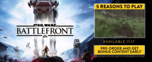 The New Trailer For STAR WARS BATTLEFRONT 3 is Here