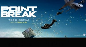The First POINT BREAK Trailer Provides Thrilling Action!
