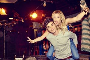 Ashley Tisdale and Mike Castle in Clipped