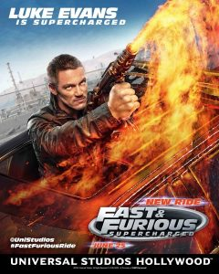 Luke Evans in Fast & Furious Supercharged
