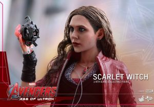 'Scarlet Witch' Figure From AVENGERS: AGE OF ULTRON Via Hot Toys