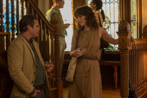 Joaquin Phoenix and Parker Posey in Irrational Man