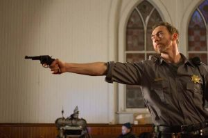 Kevin Durand in Dark Was the Night. Photo by Ryan Samul