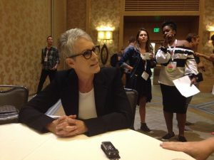 Comic-Con Roundtable: Jamie Lee Curtis on Scream Queens