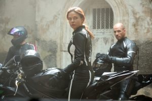 Rebecca Ferguson plays Ilsa in Mission: Impossible - Rogue Nation from Paramount Pictures and Skydance Production