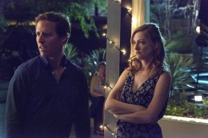 Nat Faxon and Judy Greer in Married on FX