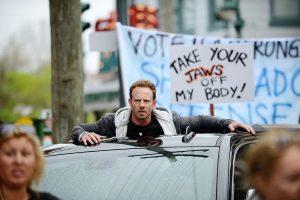 Sharknado 3 gets political