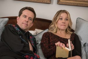 Ed Helms and Christina Applegate are Rusty and Debbie Griswold