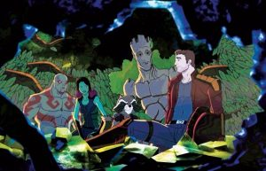 GUARDIANS OF THE GALAXY Animated Series Gets Poster and Synopsis