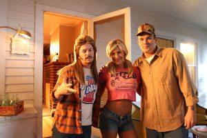 David Spade, Brittany Daniel and Mark McGrath in Joe Dirt 2: Beautiful Loser on Crackle