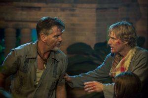 Pierce Brosnan and Owen Wilson in No Escape