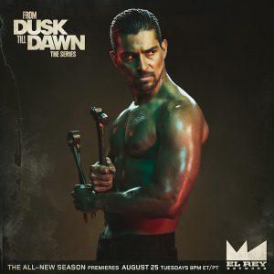 Wilmer Valderrama as Carlos in From Dusk Till Dawn: The Series