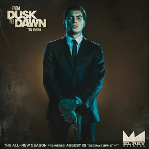 Zane Holtz as Richie in From Dusk Till Dawn: The Series
