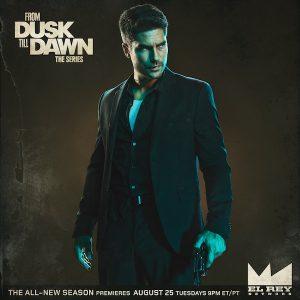 D.J. Cotrona as Seth Gecko on From Dusk Till Dawn: The Series