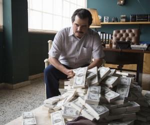 Wagner Moura as Pablo Escobar in the Netflix Original Series NARCOS.  Photo credit: Daniel Daza/Netflix