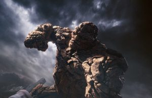 TR0135_v133_MPCc The Thing's stone body gives him epic strength and makes him virtually indestructible. Photo credit: Courtesy Twentieth Century Fox.