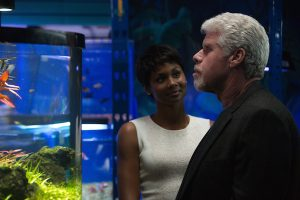 Ron Perlman and Emayatzy Corinealdi in Hand of God on Amazon Prime