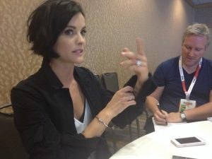 Blindspot Roundtable: Jaimie Alexander on Tattoos and Clues
