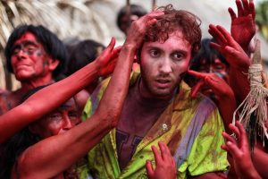 The Green Inferno Exclusive: Daryl Sabara on The Cage