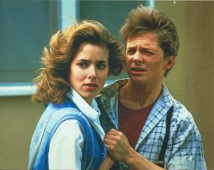 Back to the Future 30th Anniversary: Claudia Wells on Pink Pants and Nicolas Cage