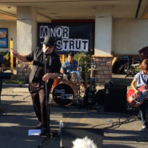 Mark Campbell sings Johnny B. Goode with Minor Strut.