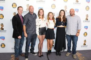 Cast and filmmakers of Martyrs at Screamfest