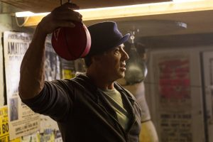 Sylvester Stallone is Rocky Balboa in Creed