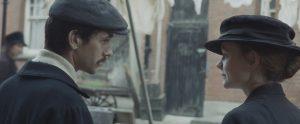 Ben Whishaw and Carey Mulligan in Suffragette