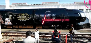 Japanese train gets decked out with Star Wars: The Force Awakens !