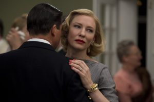 Kyle Chandler won't let go of Cate Blanchett in Carol
