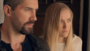Scott Adkins and Madison Lawlor in Close Range