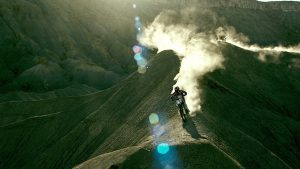 Extreme motocross in Point Break
