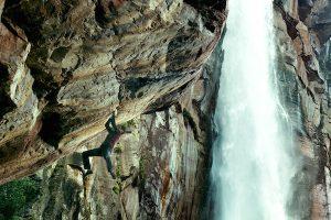 Climbing Angel Falls in Point Break