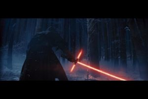 The first shot of Kylo Ren that got everyone talking