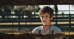 Owen Teague as young young Walt Disney