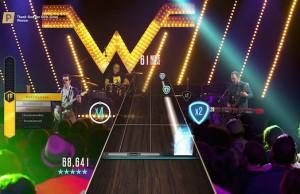 Live Weezer performances on Guitar Hero TV
