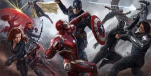 New Promo Art For 'Captain America Civil War' Released