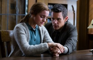 Ethan Hawke and Emma Watson in Regression