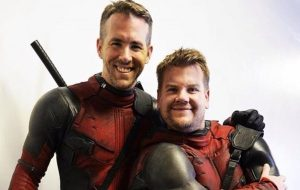 James Corden Auditions To Be Deadpool's Sidekick In This Funny Clip