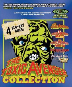 Franchise Fred Blu-ray Review: The Toxic Avenger Collection