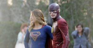 New Poster For 'Supergirl' and 'The Flash' Crossover Released
