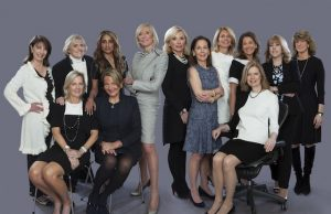 The female investors in Equity. Many also advised the film's portrayal of finance.