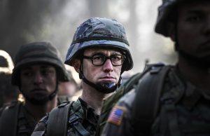 Edward Snowden (Joseph Gordon-Levitt)'s brief time in the military.