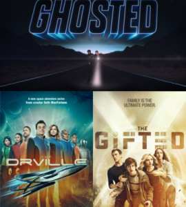Win Free Advance Passes To Fox TV's THE ORVILLE, GHOSTED, and THE GIFTED